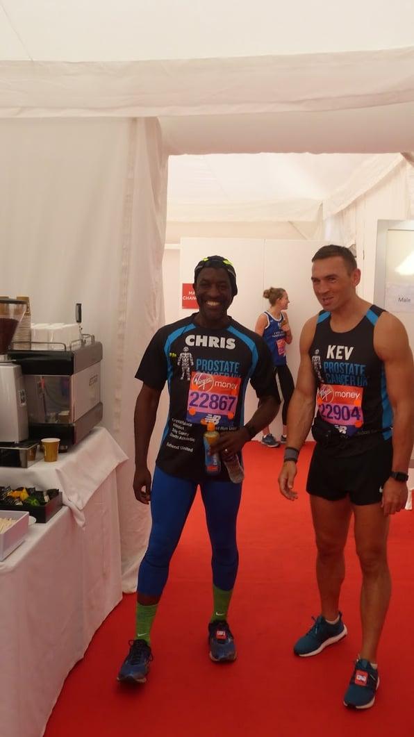 London Marathon competitors