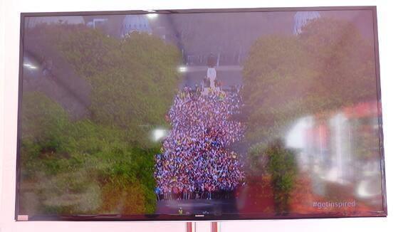 The London Marathon runners